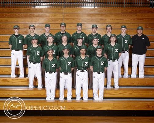 2017 Freshmen Baseball Team Photo