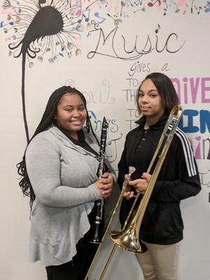 Alyse Flores and Mikayla Ferguson