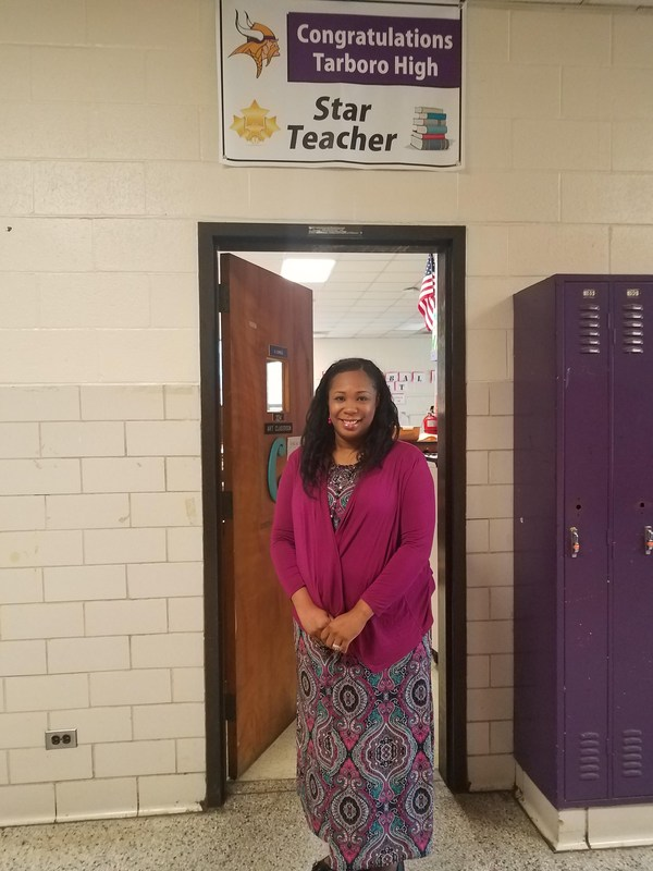 Congratulations THS Star Teacher Mrs. Cofield Thumbnail Image