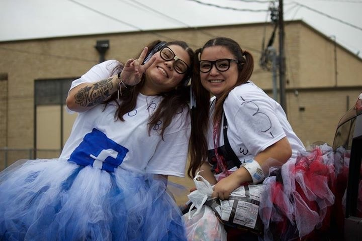 Jordan and Monika led homecoming effort