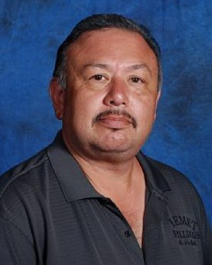 Mike Delgado was chosen as the Faculty Focus Friday employee for high schools