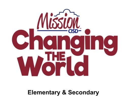 Elem. and Secon. Changing the World Logo