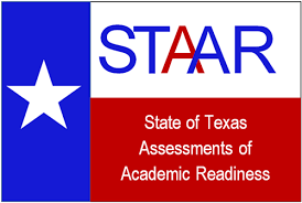 image of the state flag with words: State of Texas Assessment of Academic Readiness