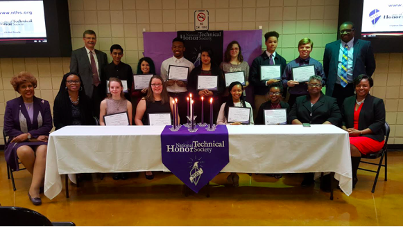 First National Technical Honor Society Induction Ceremony Held at CCTE Thumbnail Image