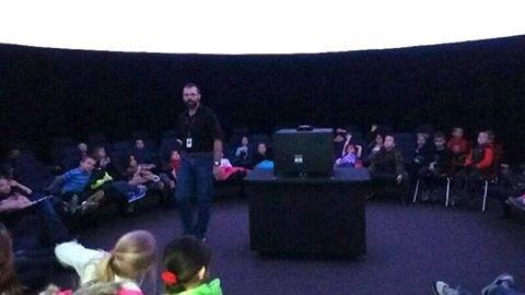 Harrison School kindergarten field trip to the Christa McAuliffe Planetarium