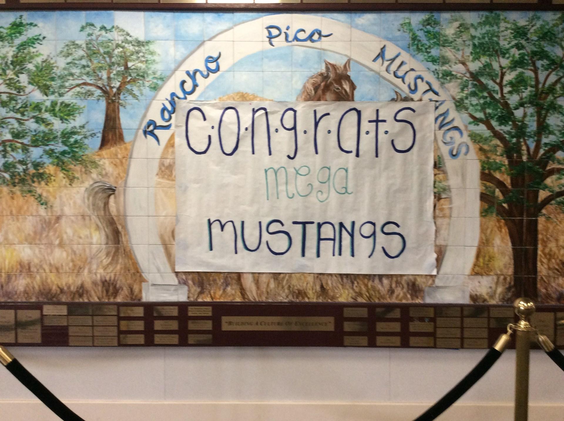Congrats Mega Mustangs!