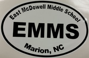 EMMS Car Sticker