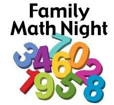 Feb. 28th-Family Math Night 6:00-7:00 p.m. Thumbnail Image