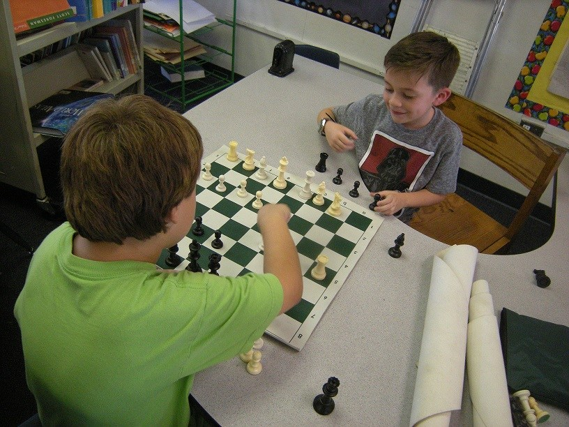 Participant in the All-District Annual Chess Tournament.