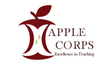 Apple Corps Excellence in Teaching logo