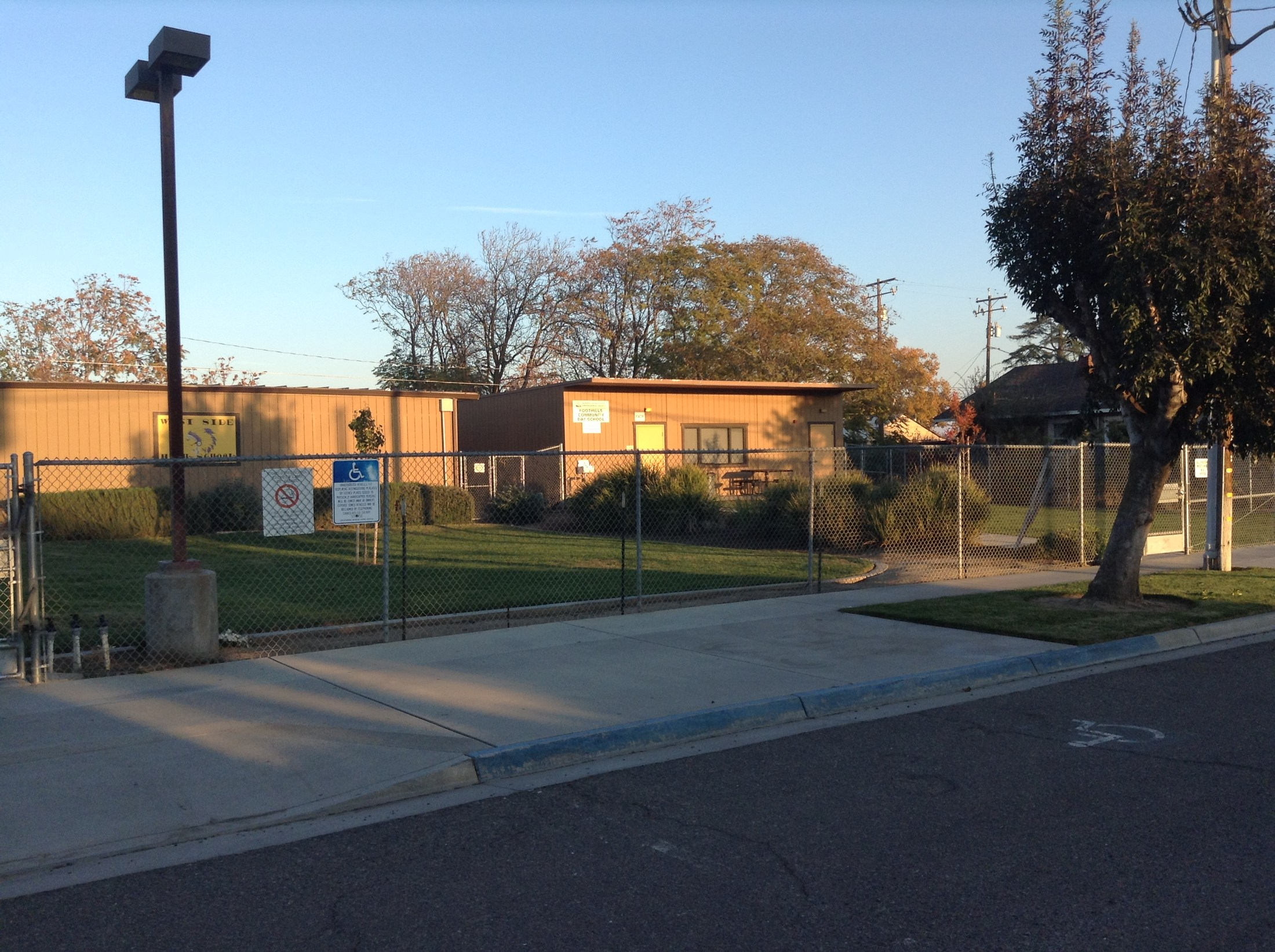 Foothill Community Day School Building