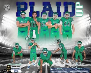 Highland Varsity Football - Promotional Poster