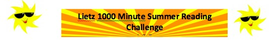 Lietz 1,000 minute Summer Reading Challenge Thumbnail Image