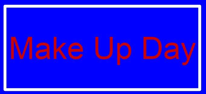 Make Up Day Thumbnail Image