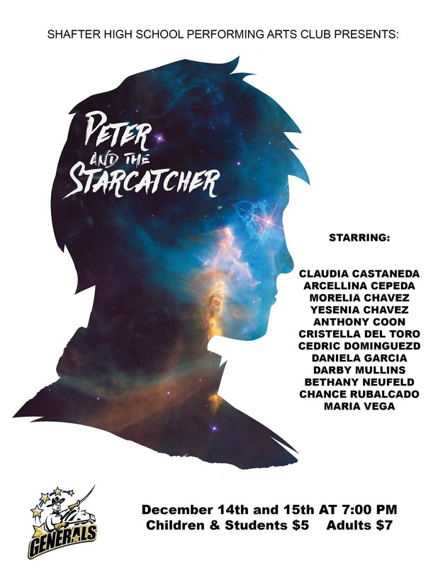 The Drama Department Presents: Peter and the Starcatcher: Thumbnail Image
