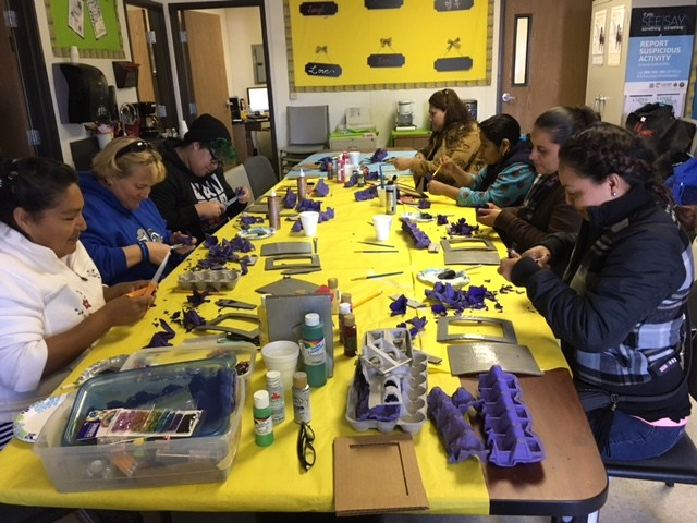 February craft class