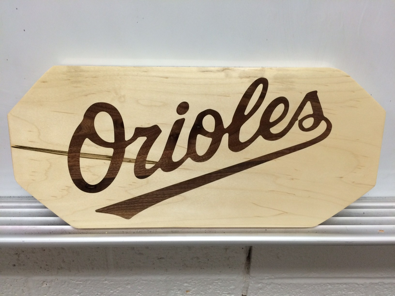 Orioles CNC Inlay-Wood Technology