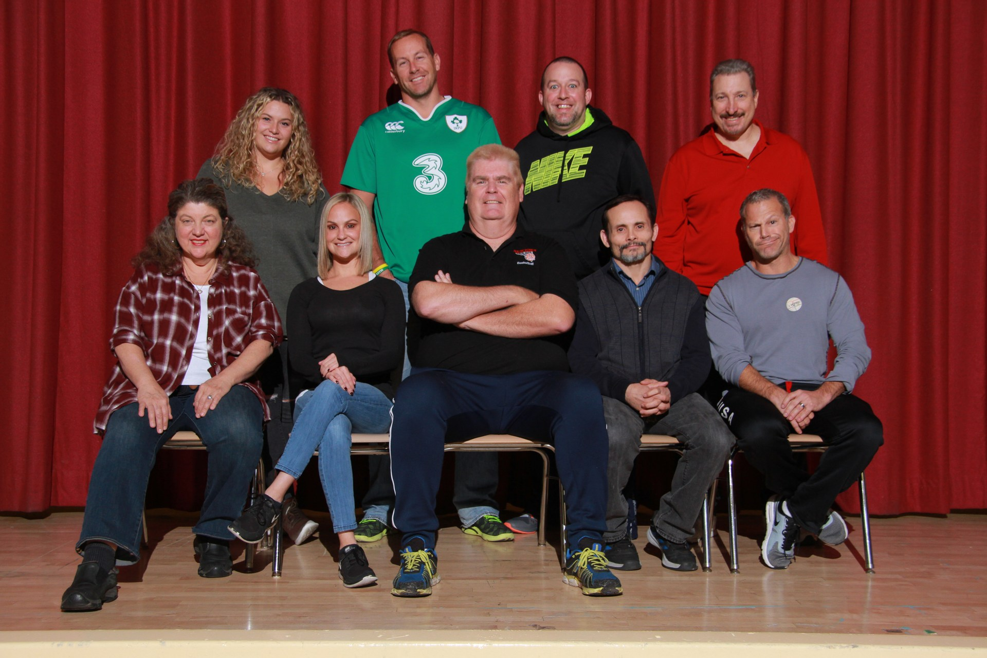 Newtown High School Physical Education Department Staff