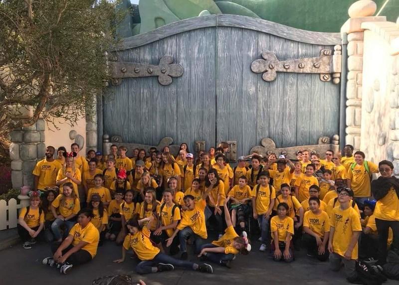 Dartmouth Band at Disneyland