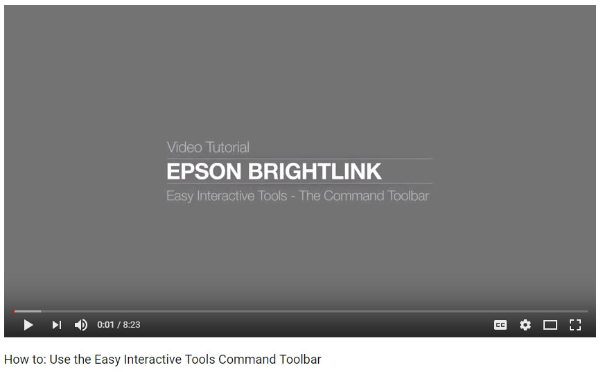 Tool Bar Video