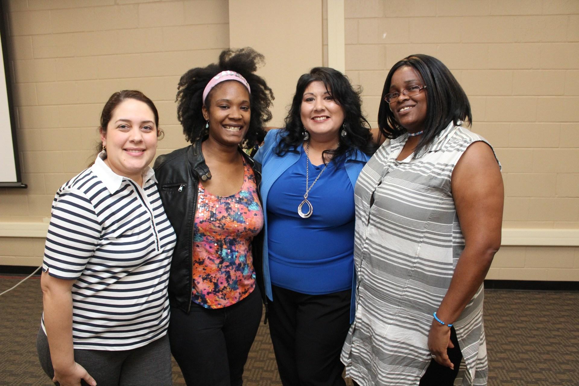 PTA members from Oak Meadows Elementary