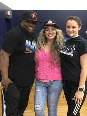 Hip Hop Reggie with parent liaison