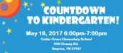 Countdown to Kdg
