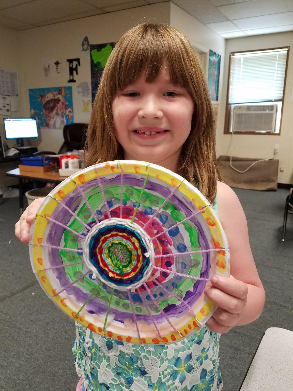 2nd grade weaving project