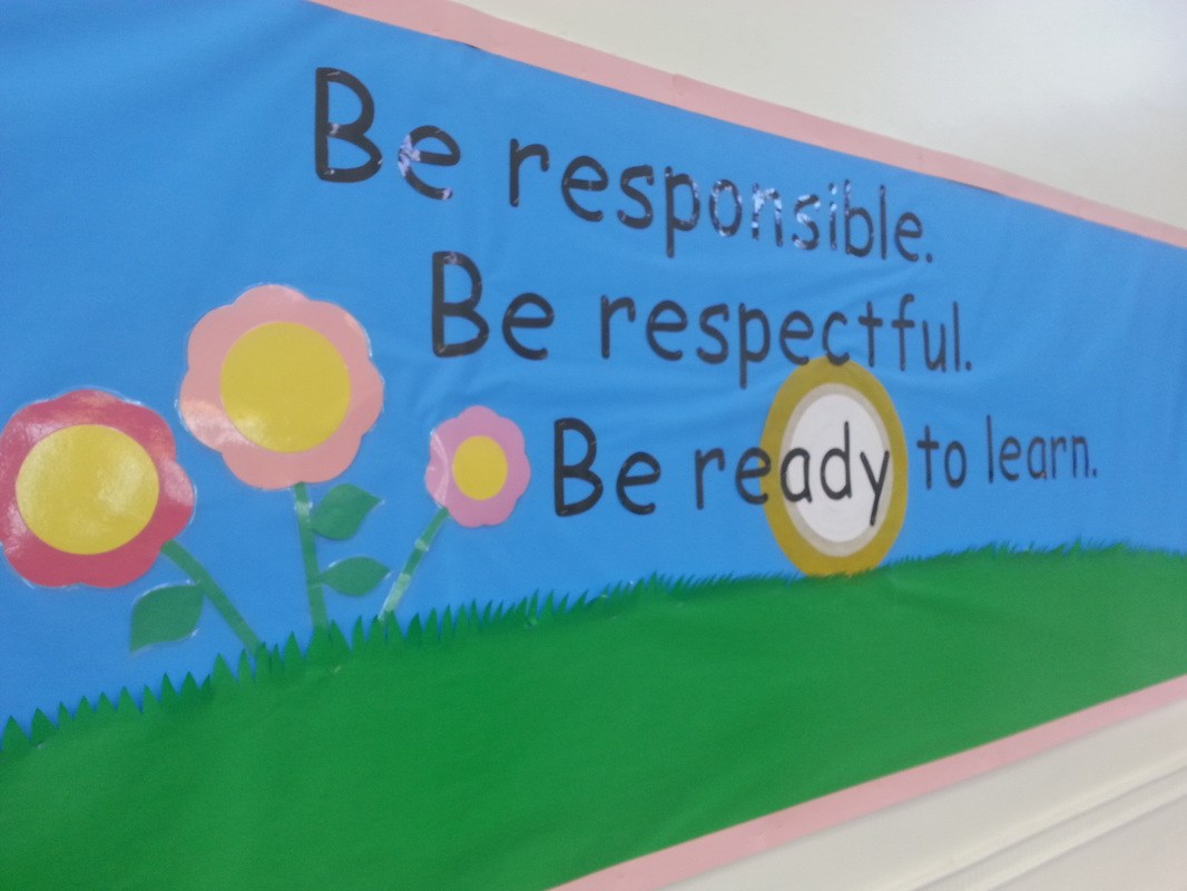 Be respectful, be responsible, be ready to learn