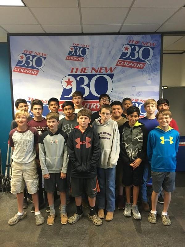 7th Grade Visits 93Q Radio Station Thumbnail Image