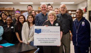Foundation's Teacher Grant Presentation Photo