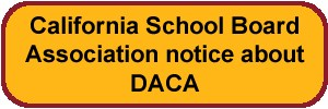 School Board Association notice about DACA