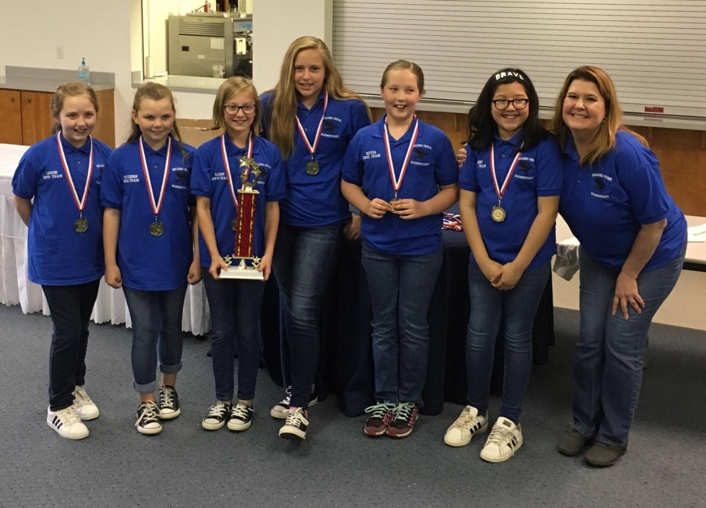 MCES was Battle of the Books Regional Winners