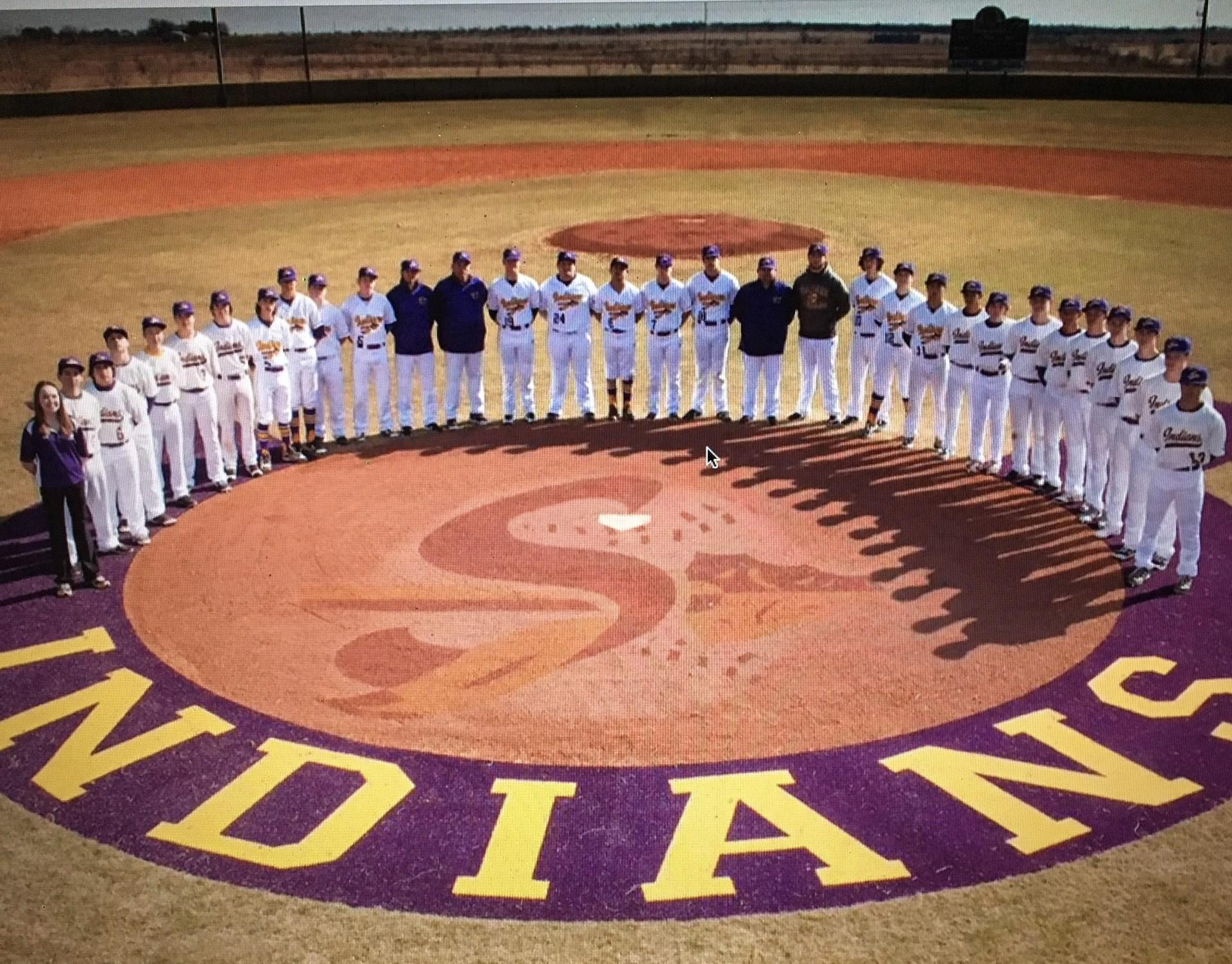 Sanger Indians Baseball Team