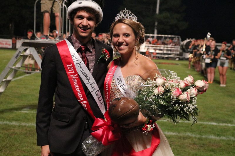 Congrats to Homecoming King Josh Robinson and Queen Madysen Jansen. Featured Photo