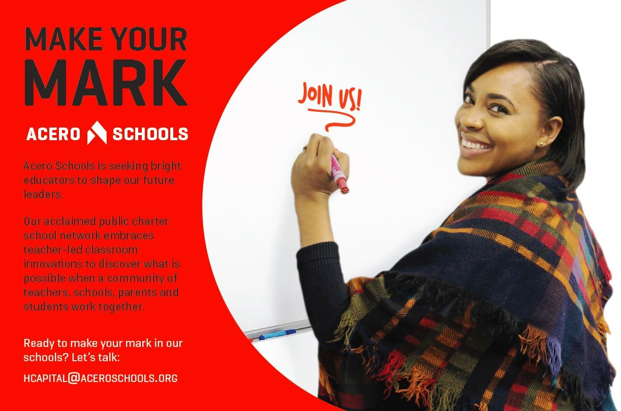 We're Looking for Bright Educators Like You