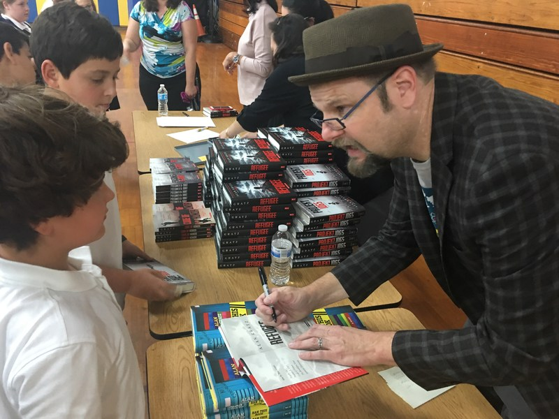 New York Times Best Selling Author Visits Greenwich Catholic School Thumbnail Image