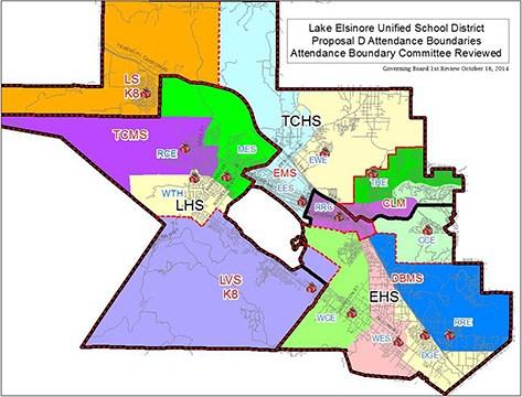 Attendance Boundaries Parents Temescal Canyon High School