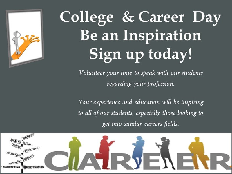 Sign up for College and Career Day Featured Photo