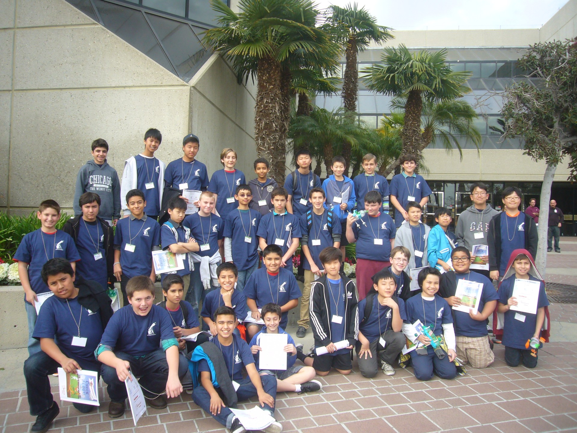 Adventures in STEM for Boys Group Photo