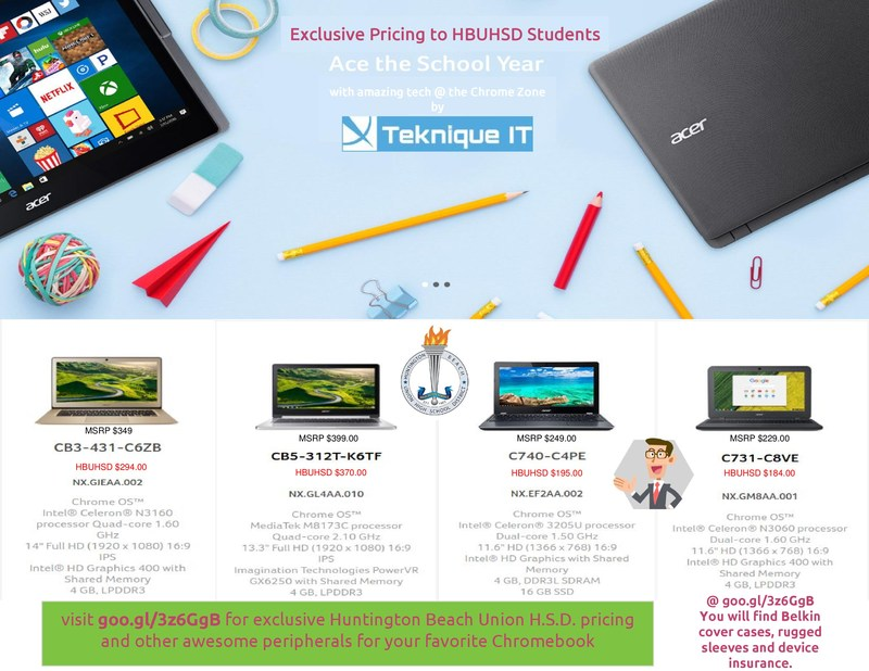 Student Chromebook Purchase Exclusive Offer Thumbnail Image