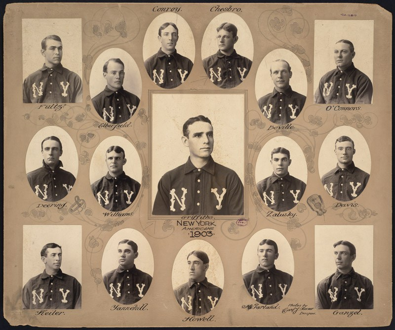 Highlander Roster of players images 1903