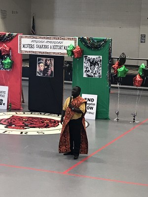 Black History Month Program performer