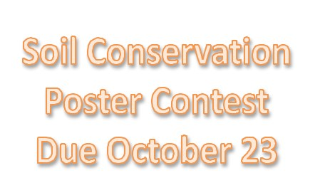 Soil Conservation Poster Contest Thumbnail Image