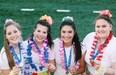 Senior Navarro Varsity Cheerleaders named UCA All American!