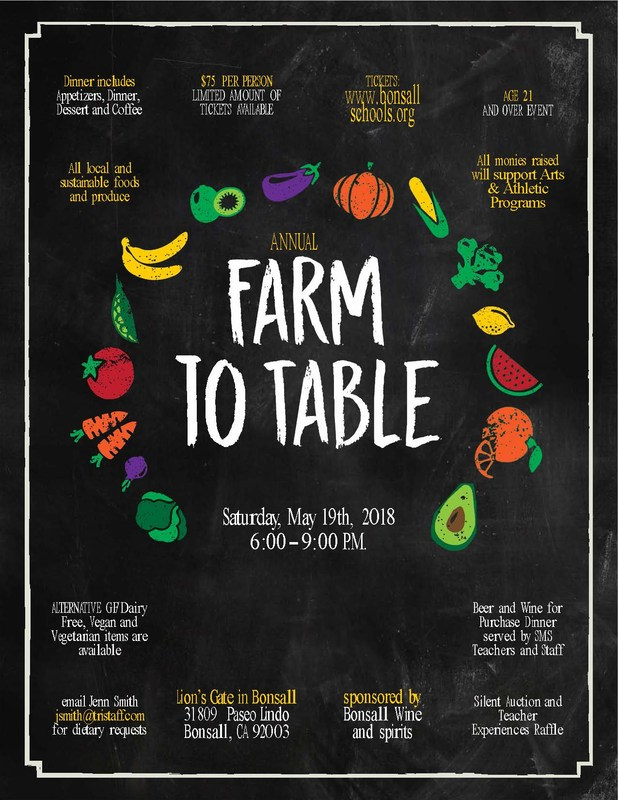 Farm to Table event