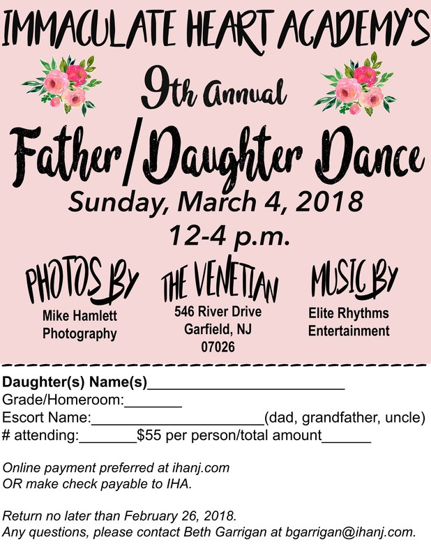 Father/Daughter Dance - March 4 Thumbnail Image