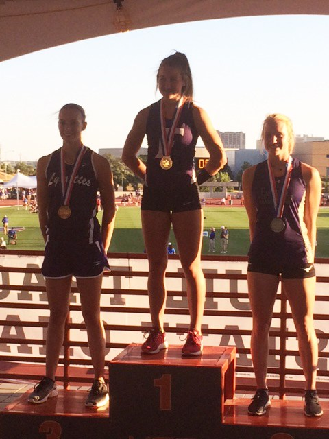 Chloe Wall - State Pole Vault Champion