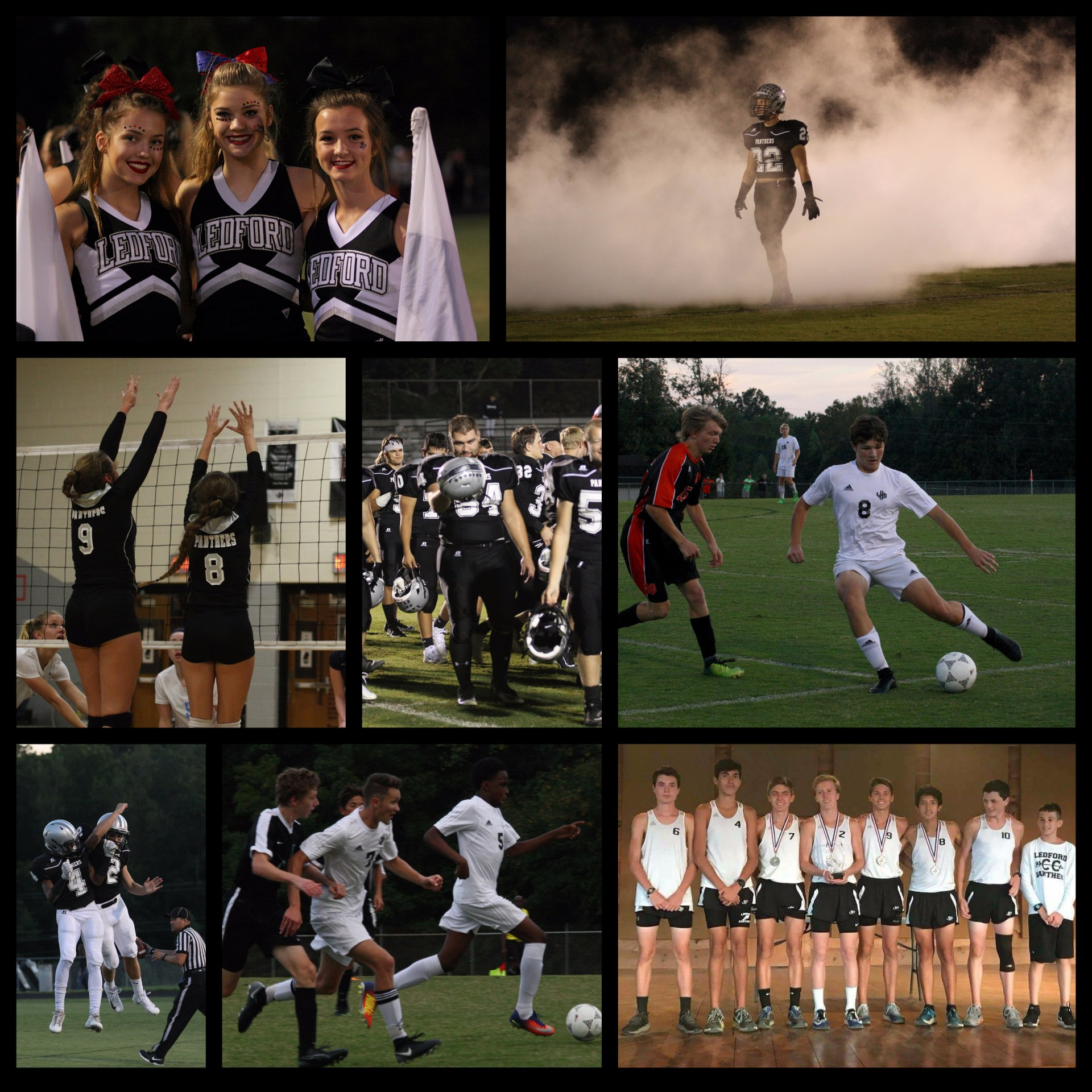 Athletic Collage