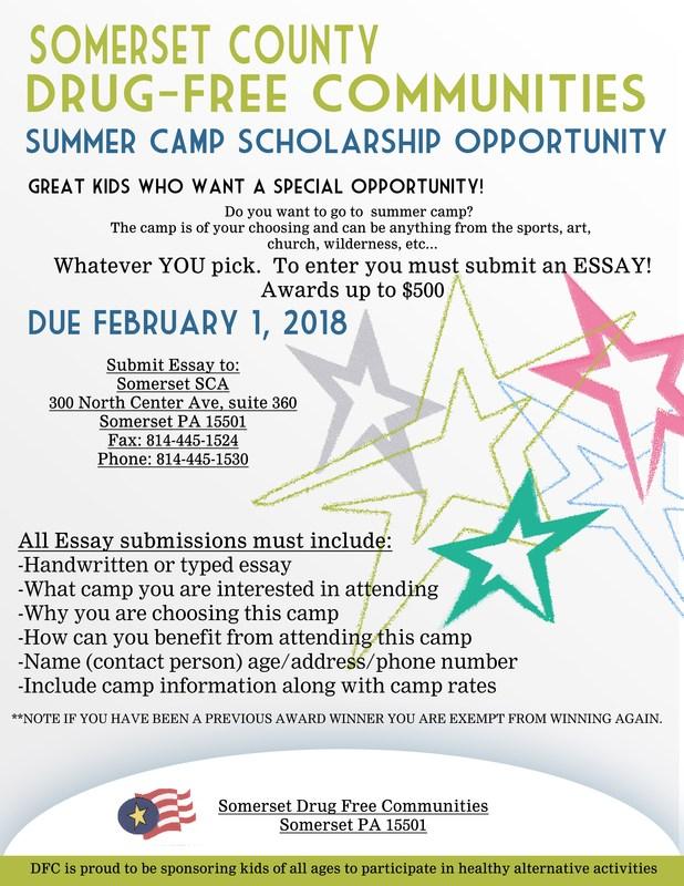 Drug Free School Scholarship